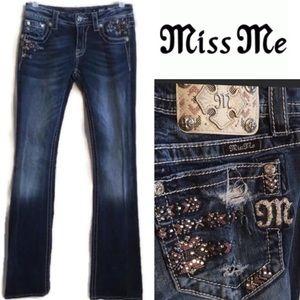 Miss Me Signature Bootcut Blue Jeans 27